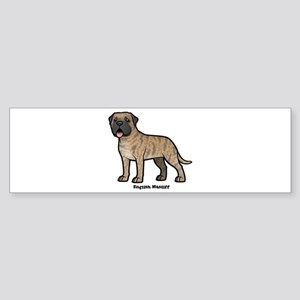 english mastiff Bumper Sticker