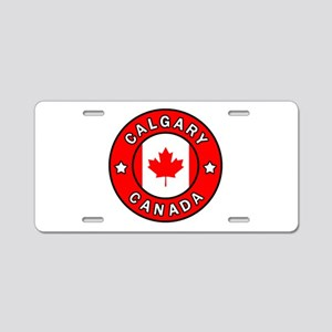 Calgary Canada Aluminum License Plate