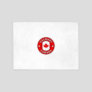 Calgary Canada 5'x7'Area Rug