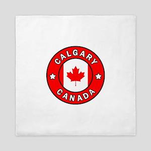 Calgary Canada Queen Duvet