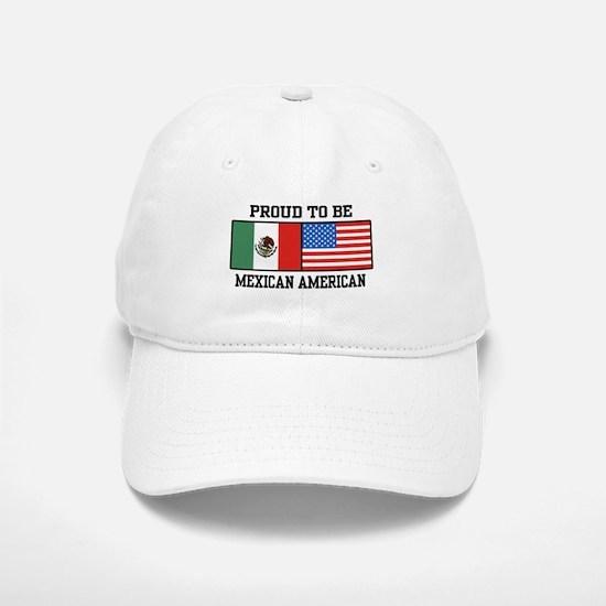 Proud Mexican American Cap