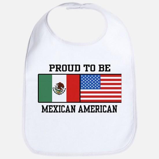Proud Mexican American Bib