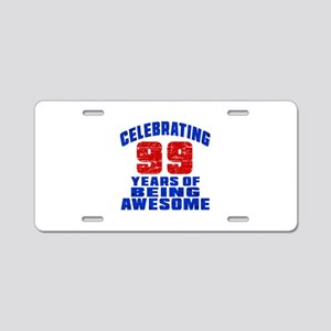 Celebrating 99 Years Of Bei Aluminum License Plate