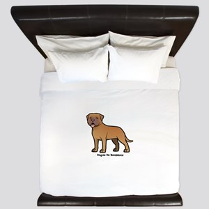 dogue de bordeaux King Duvet
