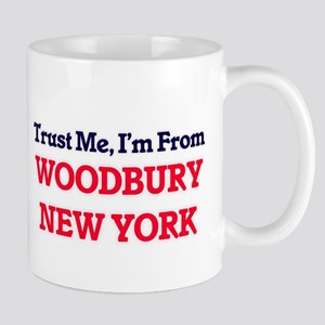 Trust Me, I'm from Woodbury New York Mugs
