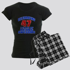 Celebrating 47 Years Of Bein Women's Dark Pajamas