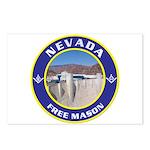 Nevada Freemasons Postcards (Package of 8)