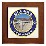 Nevada Freemasons Framed Tile