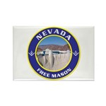 Nevada Freemasons Rectangle Magnet (10 pack)
