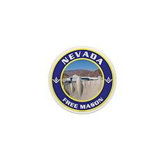 Nevada Freemasons Mini Button (10 pack)