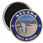 Nevada Freemasons Magnet