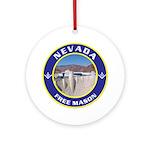 Nevada Freemasons Ornament (Round)