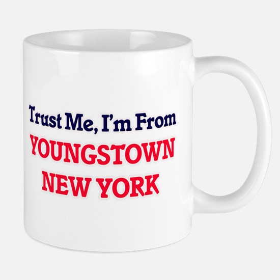 Trust Me, I'm from Youngstown New York Mugs
