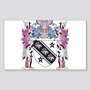 Brown Coat of Arms (Family Crest) Sticker
