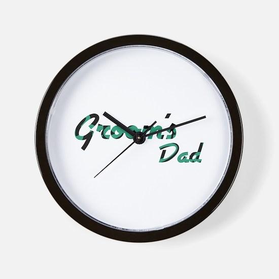 Airstream - Groom's Dad Wall Clock