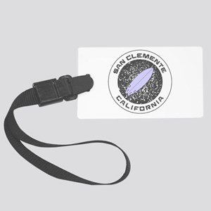 California - San Clemente Large Luggage Tag