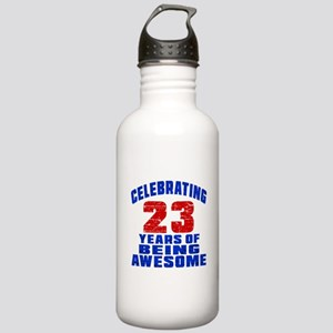 Celebrating 23 Years O Stainless Water Bottle 1.0L