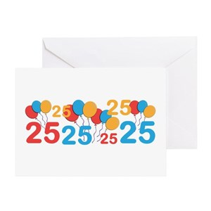 25 Years Old Greeting Cards