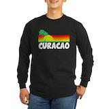 Curacao Long Sleeve Dark T-Shirts