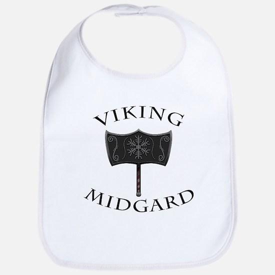 Viking Mjolnir Black Bib