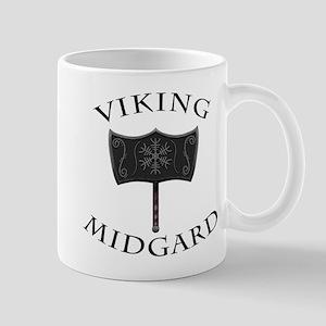 Viking Mjolnir Black Mugs