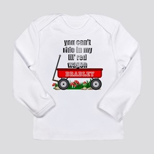 lil red wagon personalize Long Sleeve T-Shirt