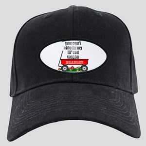 Lil Red Wagon Personalize Black Cap With Patch