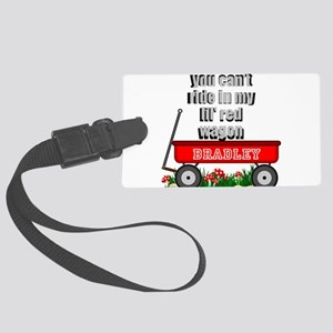 lil red wagon personalize Luggage Tag