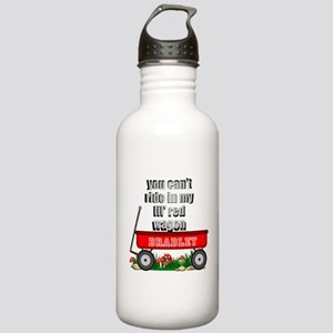 lil red wagon personalize Water Bottle