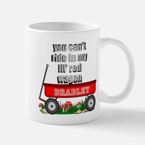 lil red wagon personalize Mugs