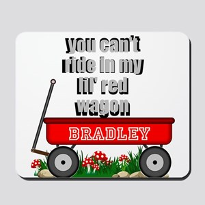 lil red wagon personalize Mousepad