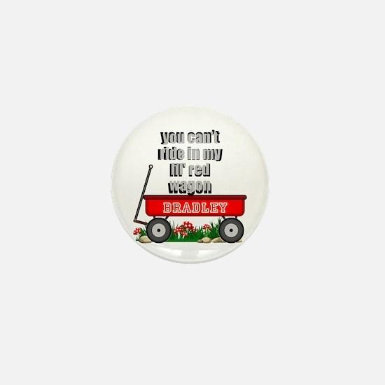 Lil Red Wagon Personalize Mini Button