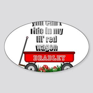 lil red wagon personalize Sticker