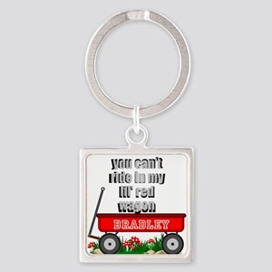 Lil Red Wagon Personalize Keychains