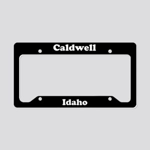 Caldwell ID License Plate Holder