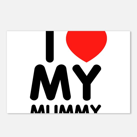 I love my mummy Postcards (Package of 8)