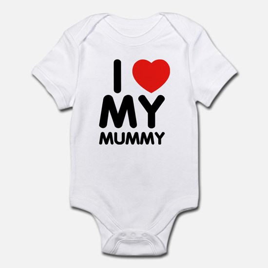 I love my mummy Infant Bodysuit