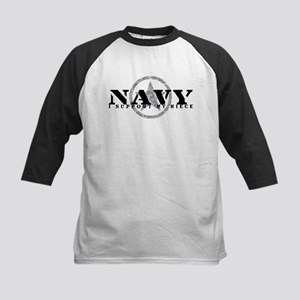 Navy - I Support My Niece Kids Baseball Jersey