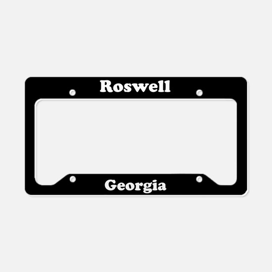 Roswell GA License Plate Holder