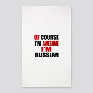 Of Course I Am Russian Area Rug