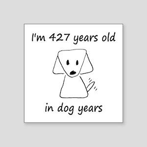 61 Dog Years 6-2 Sticker