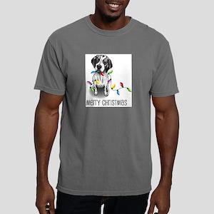 Pointer Christmas Lights Ash Grey T-Shirt