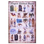 Magical Mythical Large 23x35 Poster