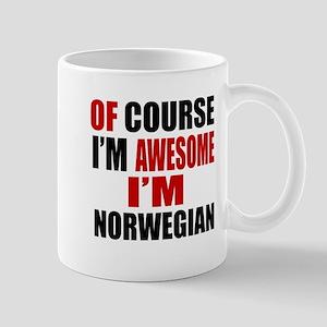 Of Course I Am Norwegian Mug