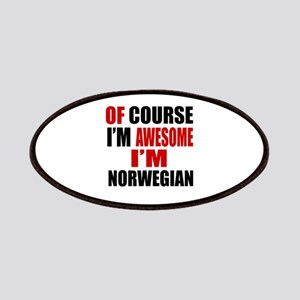 Of Course I Am Norwegian Patch