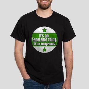 Esperanto Thing Dark T-Shirt