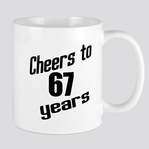 Cheers To 67 Years Mug