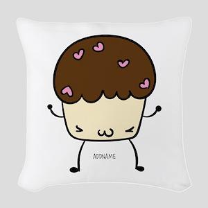 Muffin Stud Muffin Kawaii Personalized Woven Throw