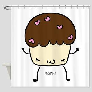 Muffin Stud Muffin Kawaii Personalized Shower Curt