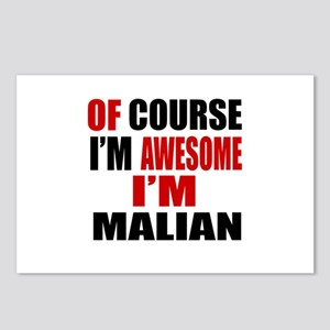 Of Course I Am Malian Postcards (Package of 8)